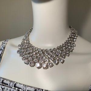 Rhinestone Necklace Costume